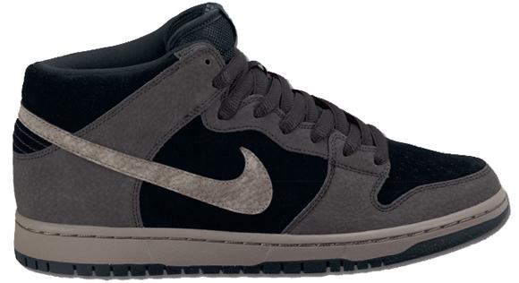 Nike SB Mid Black Iron - Spring 2012