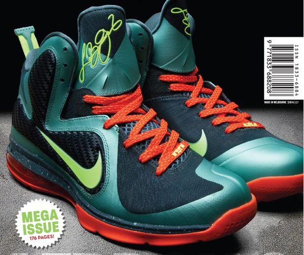 5bc228ab9adb5 Nike LeBron 9  Miami  - First Look