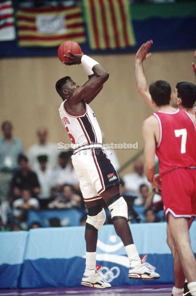 Patrick Ewing Fadaway Jump Shot 92 Olympic