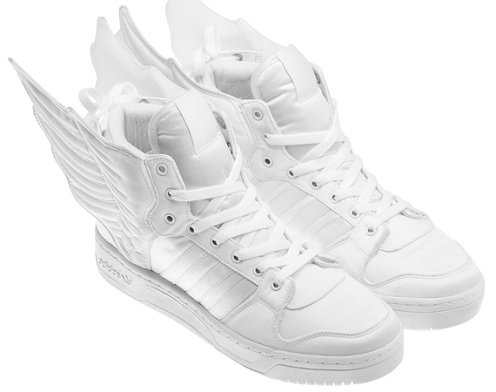 2NE1 x adidas Originals by Jeremy Scott JS Wings - White/White