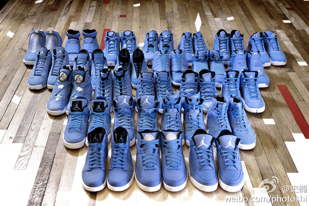 Air Jordan x Pantone 284  For The Love Of The Game  - Complete Collection  3a564c20e
