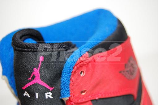 Air Jordan 1 - Max Orange/True Blue - Unreleased Sample