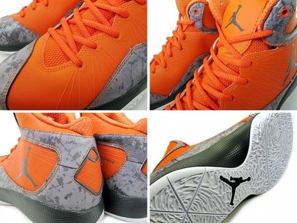 Air Jordan 2011 A Flight - Team Orange/Anthracite/White - Another Look