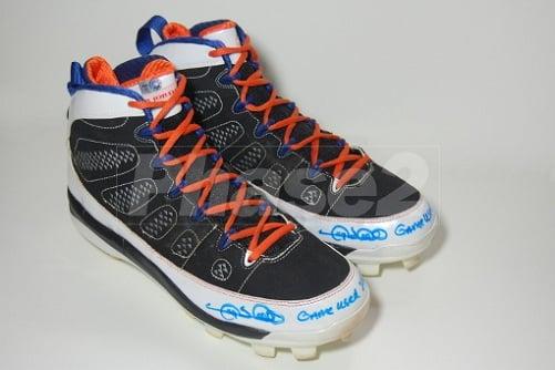 Air Jordan IX (9) - Gary Sheffield NYM PE Cleats