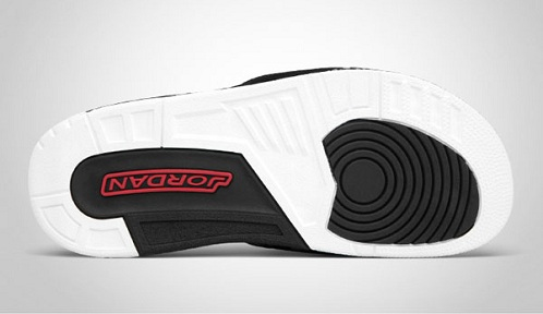 Air Jordan Retro III (3) Slide - Black Cement