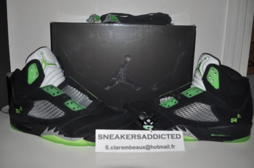 a596a3432e6b Air Jordan V (5) Retro Quai 54 Friends   Family Available on eBay ...
