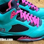 Air-Jordan-V-(5)-Retro-'South-Beach'-Customs-Detailed-Images-3