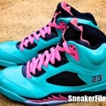 Air-Jordan-V-(5)-Retro-'South-Beach'-Customs-Detailed-Images-6