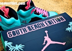 Air-Jordan-V-(5)-Retro-'South-Beach'-Customs-Detailed-Images-7