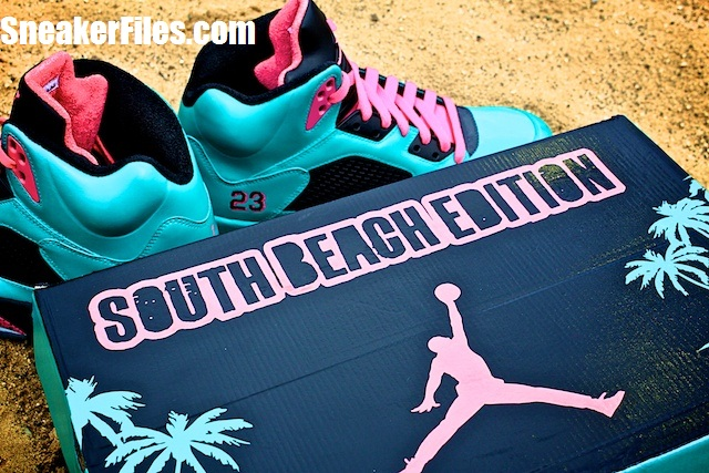 Air-Jordan-V-(5)-Retro-'South-Beach'-Customs-Detailed-Images-1