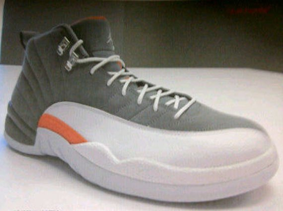 "Air Jordan XII ""Cool Grey"" - Catalog Image"