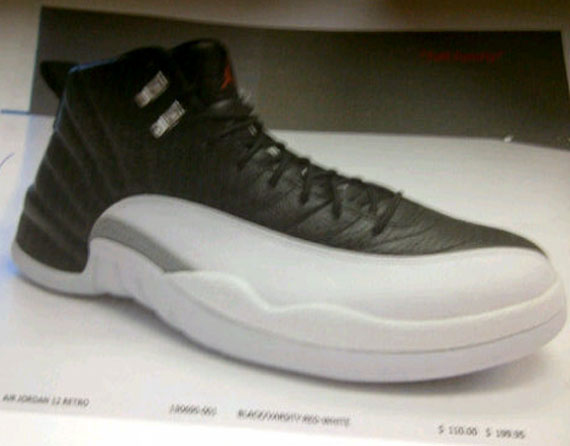 "Air Jordan XII ""Playoff"" - Catalog Image"