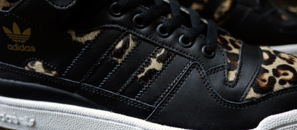 "Chapter x adidas Originals Forum Mid ""Leopard"""