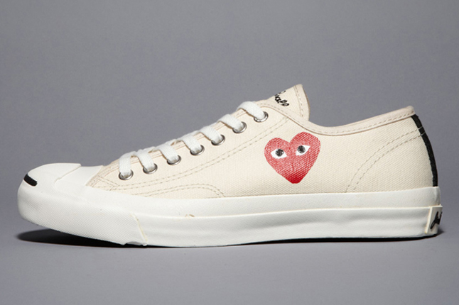 Comme des Garcons PLAY x Converse Jack Purcell - Now Available ... 9d84f51a2