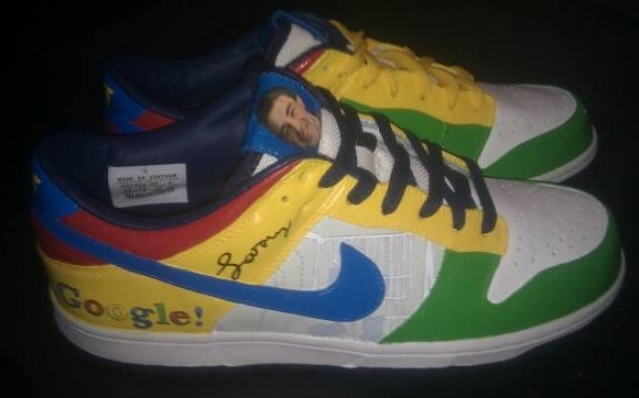 Nike Dunk Low Google Shoegler