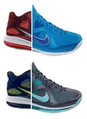 LeBron-9-Low-Upcoming-Colorways-1