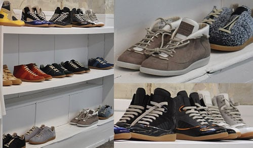Maison Martin Margiela Footwear - Spring 2012 Preview