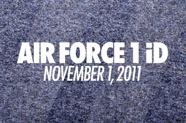 Nike Air Force 1 iD Returns November 1