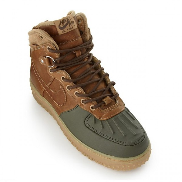 Nike Air Force 1 Duckboot - Beechtree/Dark Army
