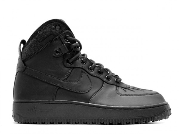 Nike Air Force 1 Duckboot - Black