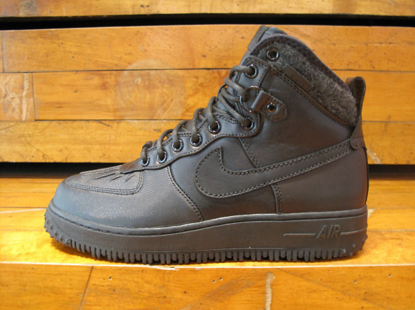 Nike Air Force 1 Duckboot - Black - Available Early