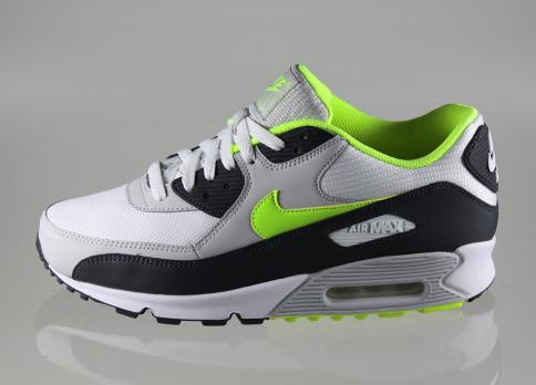 Nike Air Max 90 - Black/Grey/Volt