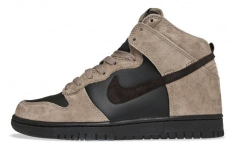 Nike Dunk High - Khaki/Brown/Black