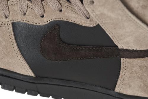 Nike Dunk High - Khaki/Brown/Black