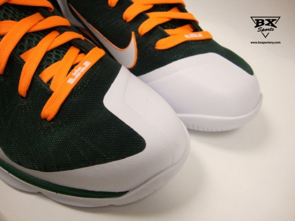Nike LeBron 9 Miami Hurricanes - Available Early
