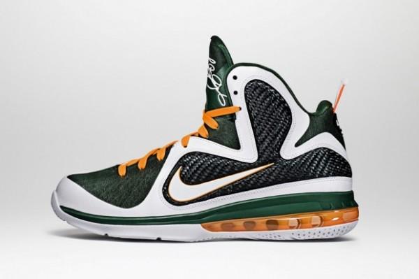Nike LeBron 9 Miami Hurricanes - Release Date + Info