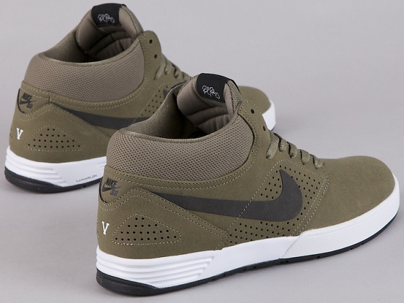 "Nike SB P-Rod 5 Mid ""Bronzed Olive"" - Available Early"