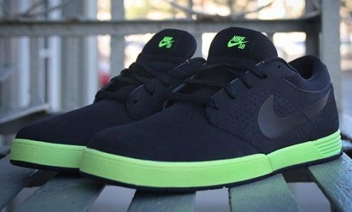 Nike SB Paul Rodriguez V - Black/Volt