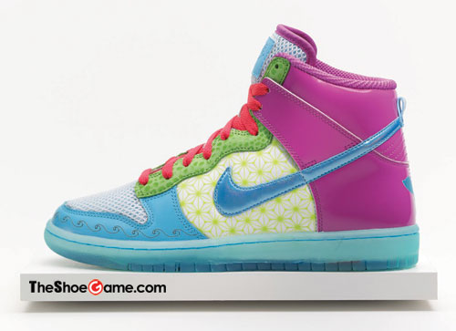 Nike Skinny Dunk High Doernbecher - A Closer Look