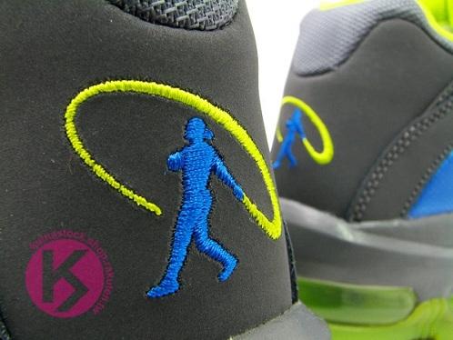Nike Total Griffey Max 99 Dark Grey/Soar-Cyber - Spring 2012