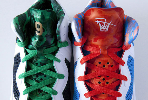 "Nike Zoom Hyperfuse 2011 - Rajon Rondo and Russell Westbrook ""Home"" PE's - Another Look"