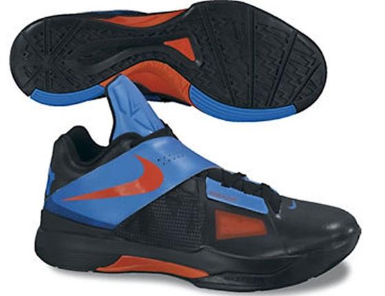Nike Zoom KD IV - Black/Team Orange/Photo Blue - Release Date + Info