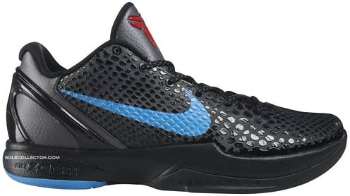 616e5e63b724 Nike Zoom Kobe VI - Dark Grey Blue Glow-Black-Chilling Red ...