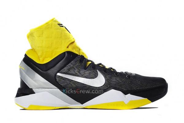 Nike Zoom Kobe VII Supreme - Black/Silver/Tour Yellow/White - Release Date + Info