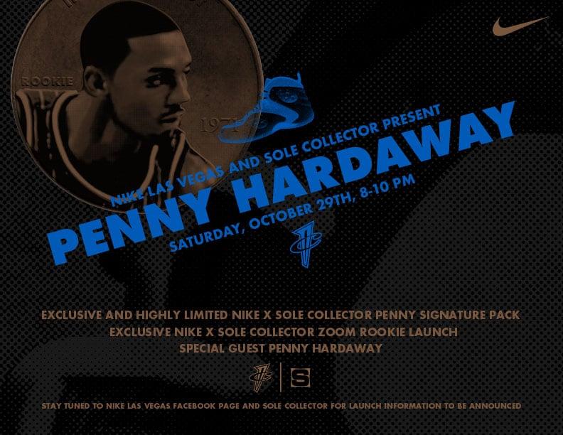 Nike Las Vegas & Sole Collector Present: Penny Hardaway