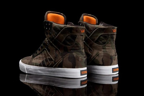 Supra Skytop Halloween Camo - Sneak Peek