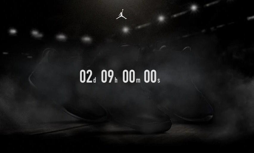 Jordan Brand Launches Countdown Clock