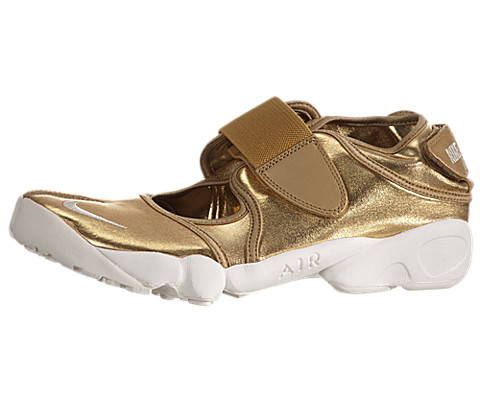 Women's Nike Air Rift MTR - Metallic Gold
