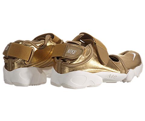 Women's Nike Air Rift MTR - Metallic Gold