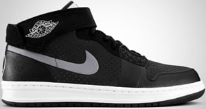 Air Jordan 1 Alpha Outdoor Black Stealth Dark Charcoal 2010 Release Date