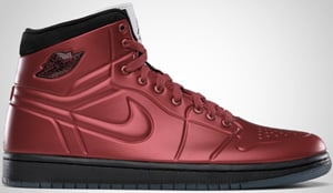 Air Jordan 1 Anodized Red Black White 2010 Release Date
