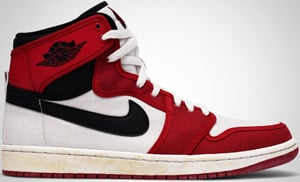 Air Jordan 1 KO High White Black Varsity Red 2010 Release Date