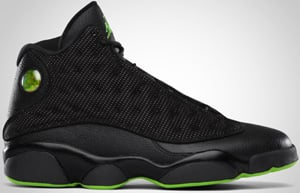 Air Jordan 13 Black Altitude Green 2010 Release Date
