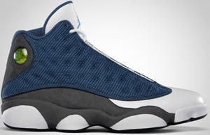 Air Jordan 13 French Blue University Flint 2010 Release Date
