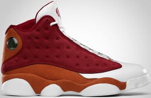 Air Jordan 13 Premio Team Red Desert Clay White 2010 Release Date