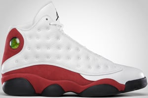 Air Jordan 13 White Black Varsity Red 2010 Release Date